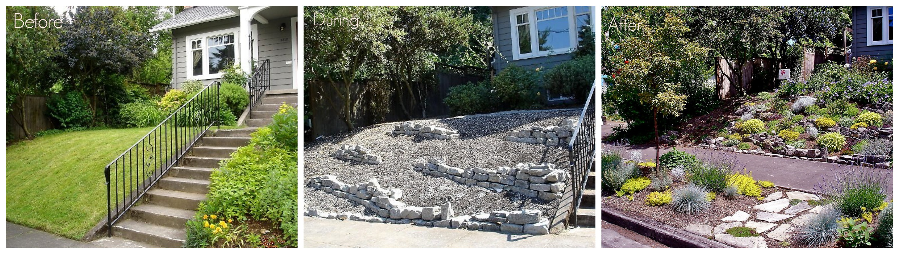 301 moved permanently for Back garden designs before and after