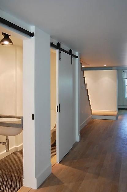 Creative under the stair storage ideas porch advice for Under stair bathroom design